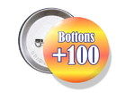 Bottons Personalizados 38mm - R$ 1,50