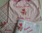 Kit para Maternal Bordado