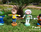 Kit personagens Toy Story