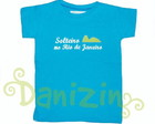 T-Shirt Infantil Tam 1 - SOLTEIRO NO RIO