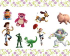 50 apliques Toy Story