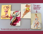 "Kit quadros pin-ups ""Bonitas"""