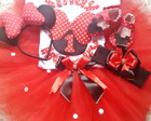 Kit Festa fantasia Minnie 003 Completo