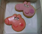 Bolacha Decorada - Peppa