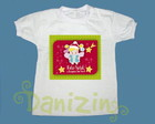T-Shirt Beb e Infantil FELIZ NATAL!