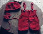 Conjunto baby red