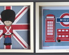 Elo7 Friday - Produtos exclusivos - Kit com 2 quadros London