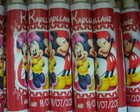 Bisnagas 30 gr Minnie e Mickey