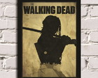 Poster com Moldura The Walking Dead 3