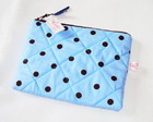 Necessaire Basic Polka Dots Blue Ice
