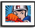 Quadro Speed Racer Mach 5 com Paspatur
