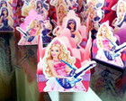 Barbie Pop Star - Forminha para doces