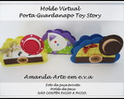 Molde Virtual Porta Guardanapo Toy Story