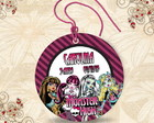 Tag Redonda Monster High - 00078