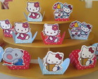 100 forminhas hello kitty