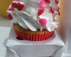 Mini Cupcake decorado com chantilly -10u