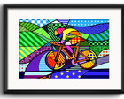 Quadro Bicicleta Pop Art com Paspatur