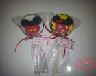 Pirulito de Chocolate Minnie e Mickey