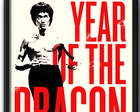 Quadro Bruce Lee Year of the Dragon