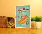 Quadro Vintage Hot Dog - 59