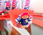 Paddington Bear - Forminhas para Cupcake