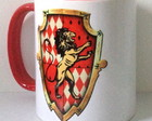 Caneca Casas Harry Potter