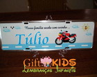PLACA INFANTIL - PORTA MATERNIDADE