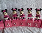 CUBOS DECORATIVOS MINNIE