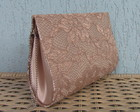 Mini Clutch Renda Nude