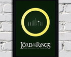 Poster com Moldura Lord of the rings 2