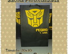 Sacola Papel - Transformers - 20x30