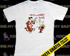 Camiseta Infantil Calvin and Hobbes Rock