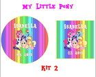 Kit Personalizado My Little Pony 2