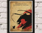 Poster com Moldura Lord of the Rings 3