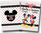 Revista de colorir mickey minnie 14x10