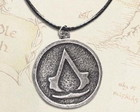 Colar Moeda assassin's creed Artesanal
