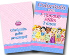 Revistas colorir Princesas baby 14x10