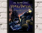 Poster com Moldura Harry Potter 3 #
