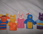 Conjunto dedoches Backyardigans