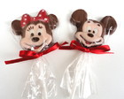 Pirulito de chocolate Mickey & Minnie