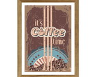 Quadro Coffee Time Retrô 24x32,5 cm
