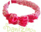 Tiara/ Arco Lao Danizin Pink Floral
