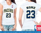 Baby Look Indiana Pacers Basquete Nba