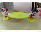 Bandeja oval Minnie e Mickey