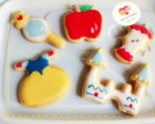Kit mini cookies tema Branca de Neve