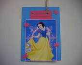 CONVITE SCRAPBOOK - BRANCA DE NEVE