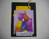 CONVITE SCRAPBOOK - BACKYARDIGANS
