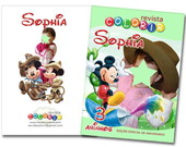 Revista Personalizada Mickey e Minnie