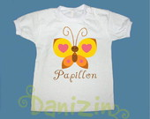 T-Shirt Beb e Infantil PAPILLON