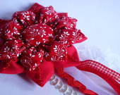 Broche Totally Red